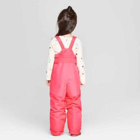 de6a5973e Toddler Girls  Snow Pants - Cat   Jack™ Pink 6   Target