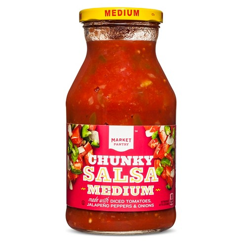 Medium Chunky Salsa 24 oz - Market Pantry™ - image 1 of 1
