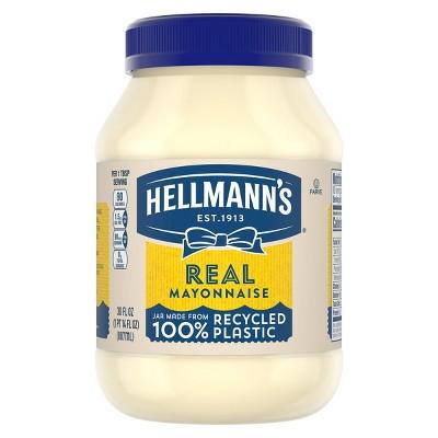 Hellmann's Mayonnaise Real - 30oz