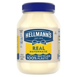 Hellmann's Mayonnaise Real - 30oz