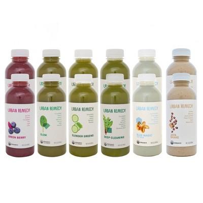 Urban Remedy Organic Energizing Juice Cleanse - 12ct/16 fl oz