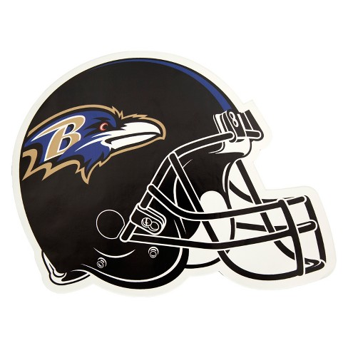 NFL Baltimore Ravens Large Outdoor Helmet Decal - image 1 of 1