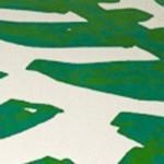 Green & Cream Animal Print