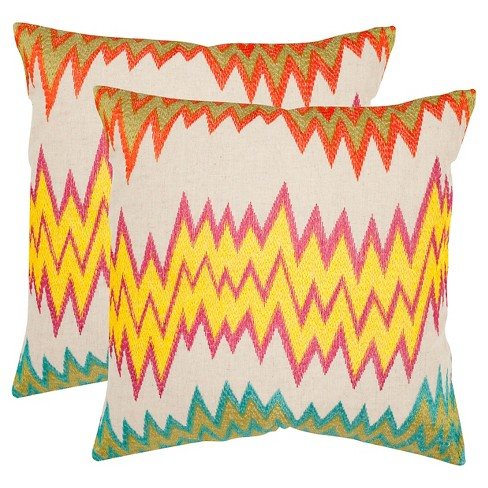 Ashley Throw Pillow 2 Pack - Safavieh® - image 1 of 1