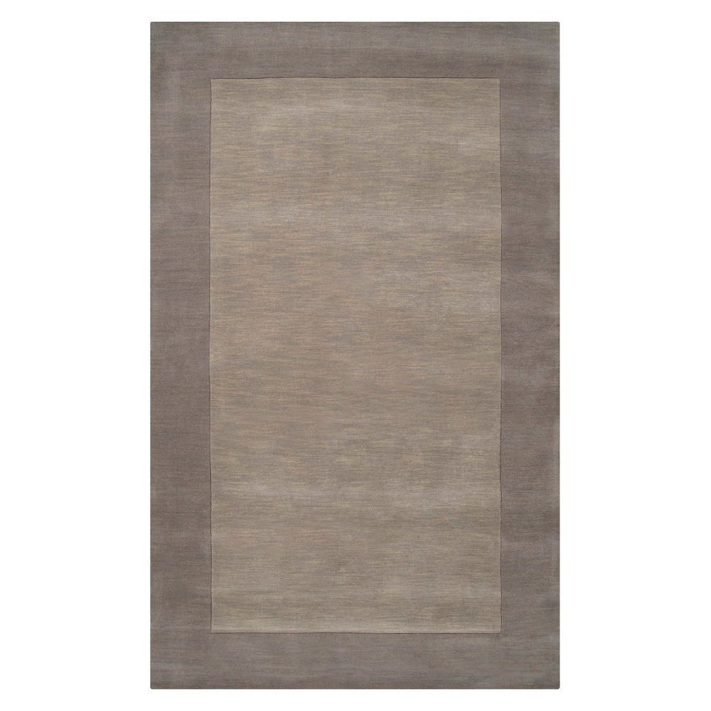Solid Woven Accent Rug - (3'3