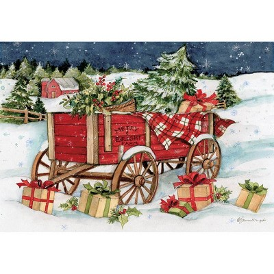 12ct Snowy Delivery Boxed Christmas Cards