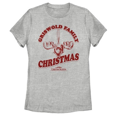Women's National Lampoon's Christmas Vacation Griswold Family Moose T-Shirt
