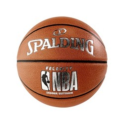 "Spalding 29.5"" Velocity Basketball - Brown"