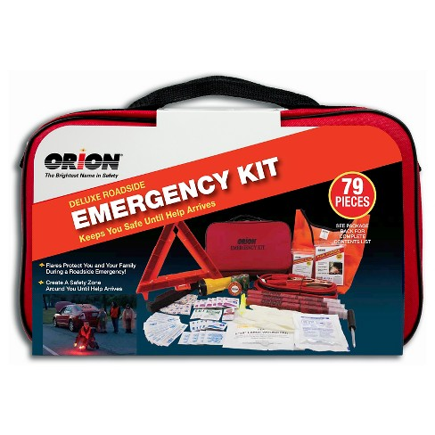 Orion Deluxe Roadside Emergency Kit-79 pieces - image 1 of 3