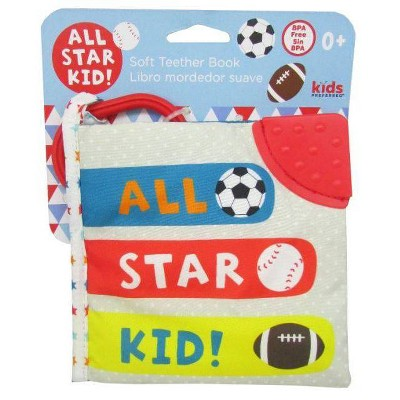 Kids' Preferred Little Sports Star Soft Book Gray