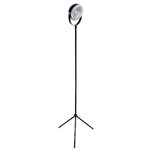 Headlite Floor Lamp Black (Includes Light Bulb) - Lite Source - image 1 of 2