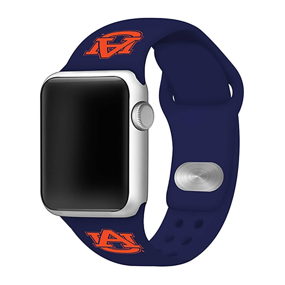 Ncaa Auburn Tigers Silicone Apple Watch Band 38mm