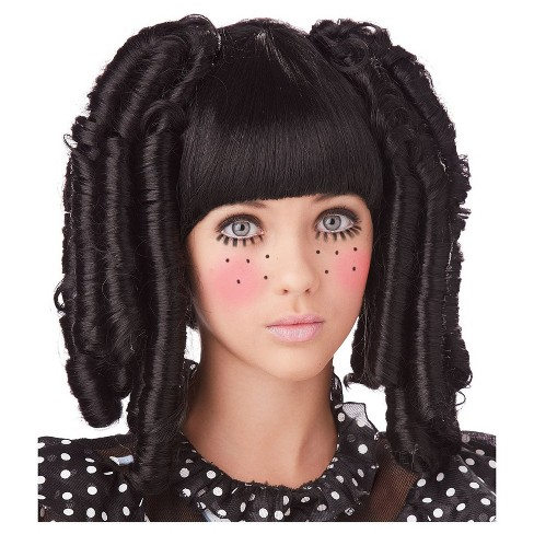 Baby Doll Curls with Bangs Adult Wig - image 1 of 1