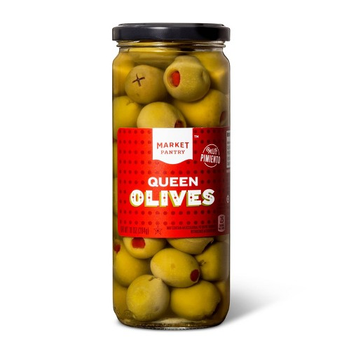 Queen Size Spanish Olives - 10oz - Market Pantry™ - image 1 of 2