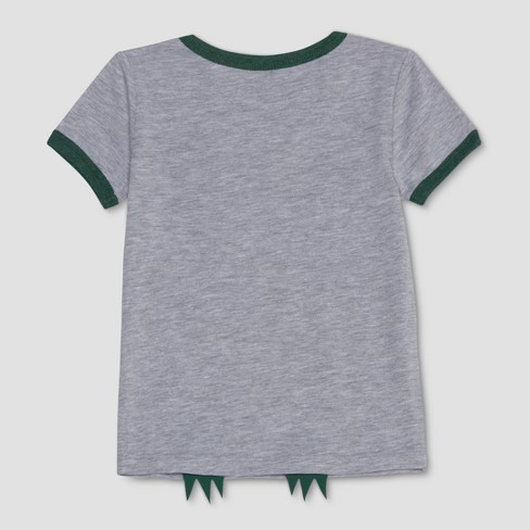 0116a7d8 Toddler Boys' Jurassic World They Were Here First Short Sleeve T-Shirt -  Heather Gray : Target