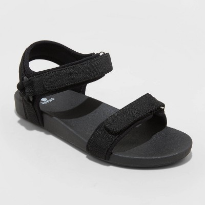 Women's Janessa Easy Closure Sport Sandals - Shade & Shore™ Black