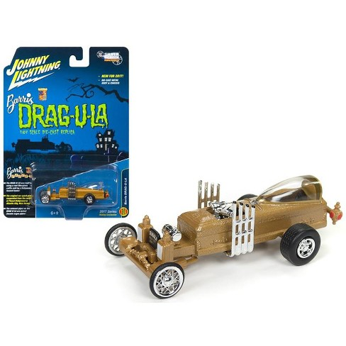 """The Barris Dragula """"Hobby Exclusive"""" 1/64 Diecast Model Car by Johnny Lightning - image 1 of 1"""