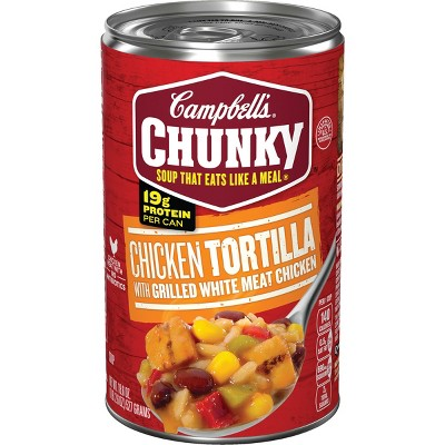 Campbell's Chunky Soup Chicken Tortilla - 18.6oz