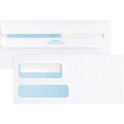 Business Source 500ct No.9 Double Window Invoice Envelopes