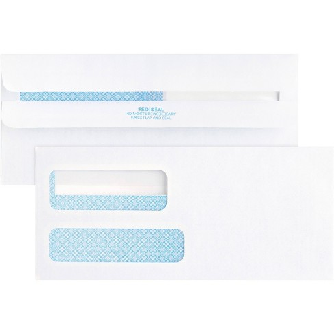 Business Source 500ct No.9 Double Window Invoice Envelopes - image 1 of 4