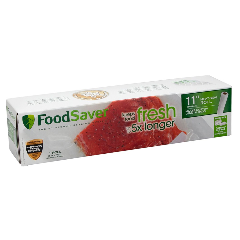 "Image of ""FoodSaver 11"""" x 16' Heat-Seal Roll, Clear"""
