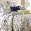 Mockingbird Toile Quilt and Pillow Sham Set - Levtex Home - image 2 of 4