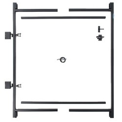 "Adjust-A-Gate Steel Frame Gate Building Kit, 60""-96"" Wide Opening Up To 5' High"