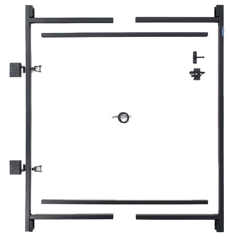 """Adjust-A-Gate Steel Frame Gate Building Kit, 60""""-96"""" Wide Opening Up To 5' High - image 1 of 4"""