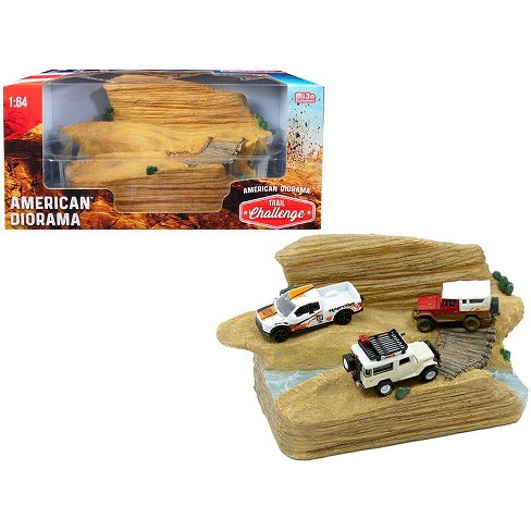 """""""Trail Challenge"""" Resin Diorama for 1/64 Scale Models by American Diorama - image 1 of 1"""