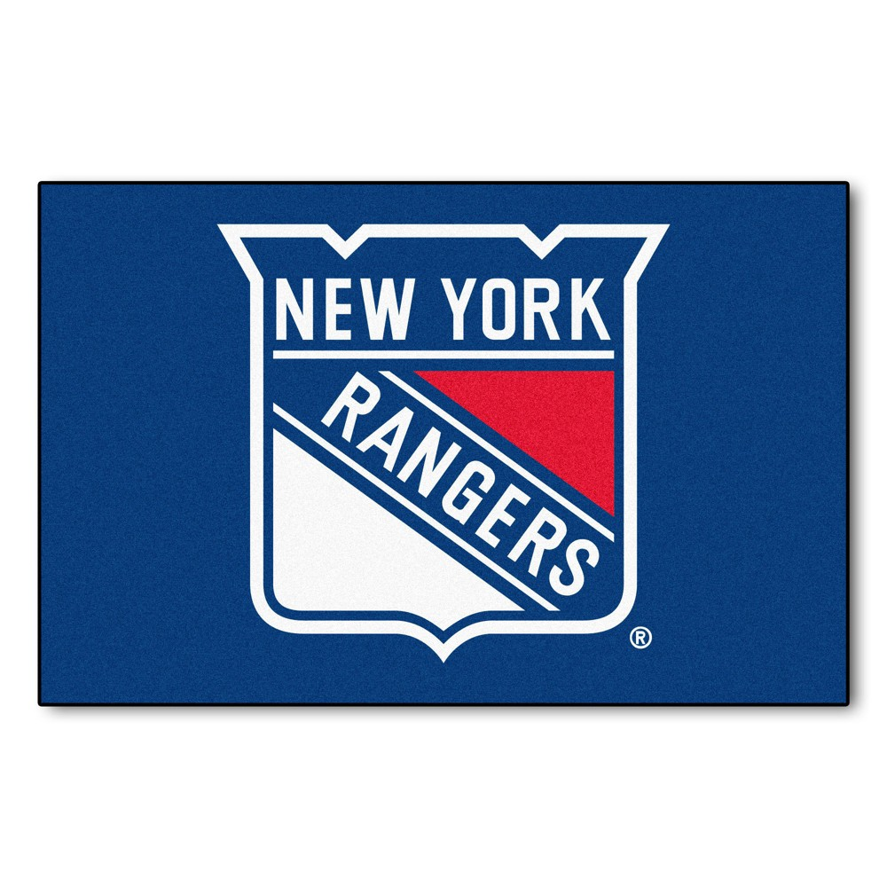 NHL New York Rangers Starter Mat 19