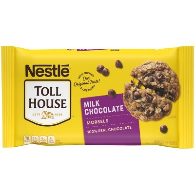 Nestle Toll House Milk Chocolate Morsels - 23oz