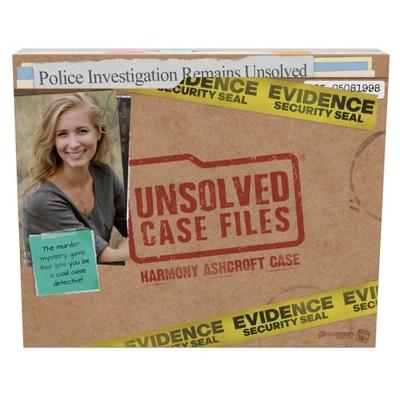 Pressman Unsolved Case Files: Harmony Ashcroft Game