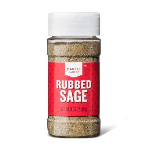 Rubbed Sage - .65oz - Market Pantry™ - image 1 of 1
