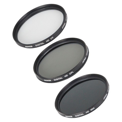 Bower 5-Piece Digital Filter Kit 52mm for SLR Cameras - Clear/Black (VFK52C) - image 1 of 1