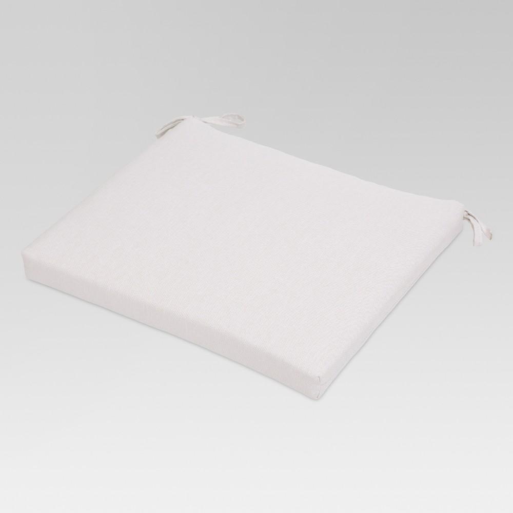 Outdoor Seat Cushion Linen - Threshold