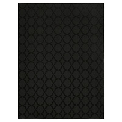 Garland Sparta Area Rug - Black (7'6 X9'6 )