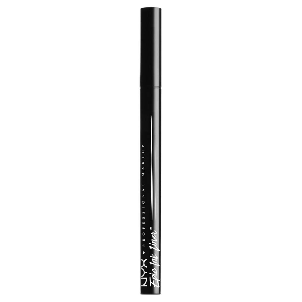 Nyx Professional Makeup Epic Ink Eyeliner - Black - 0.02 fl oz