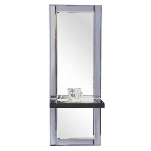 Rectangle Emerson Decorative Wall Mirror Gray - Howard Elliott - image 1 of 8