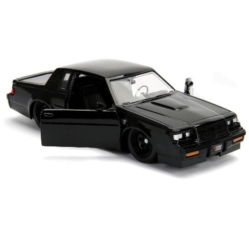 """dom's buick grand national black """"fast & furious"""" movie 1/24 diecast"""