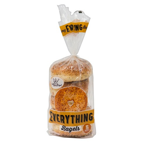 Western Bagel Everything Bagels - 5ct - image 1 of 1