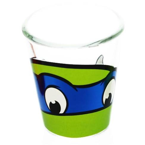 Just Funky Teenage Mutant Ninja Turtles Leonardo Clear Shot Glass