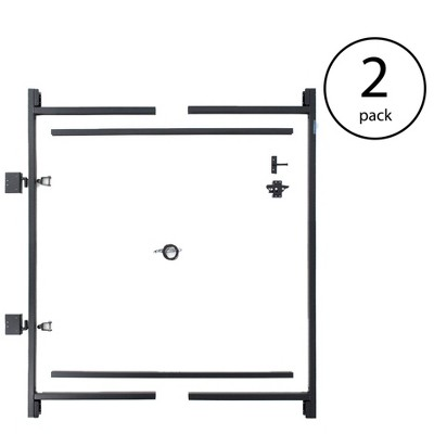 "Adjust-A-Gate Steel Frame Gate Building Kit, 60""-96 Inch Wide Opening (2 Pack)"