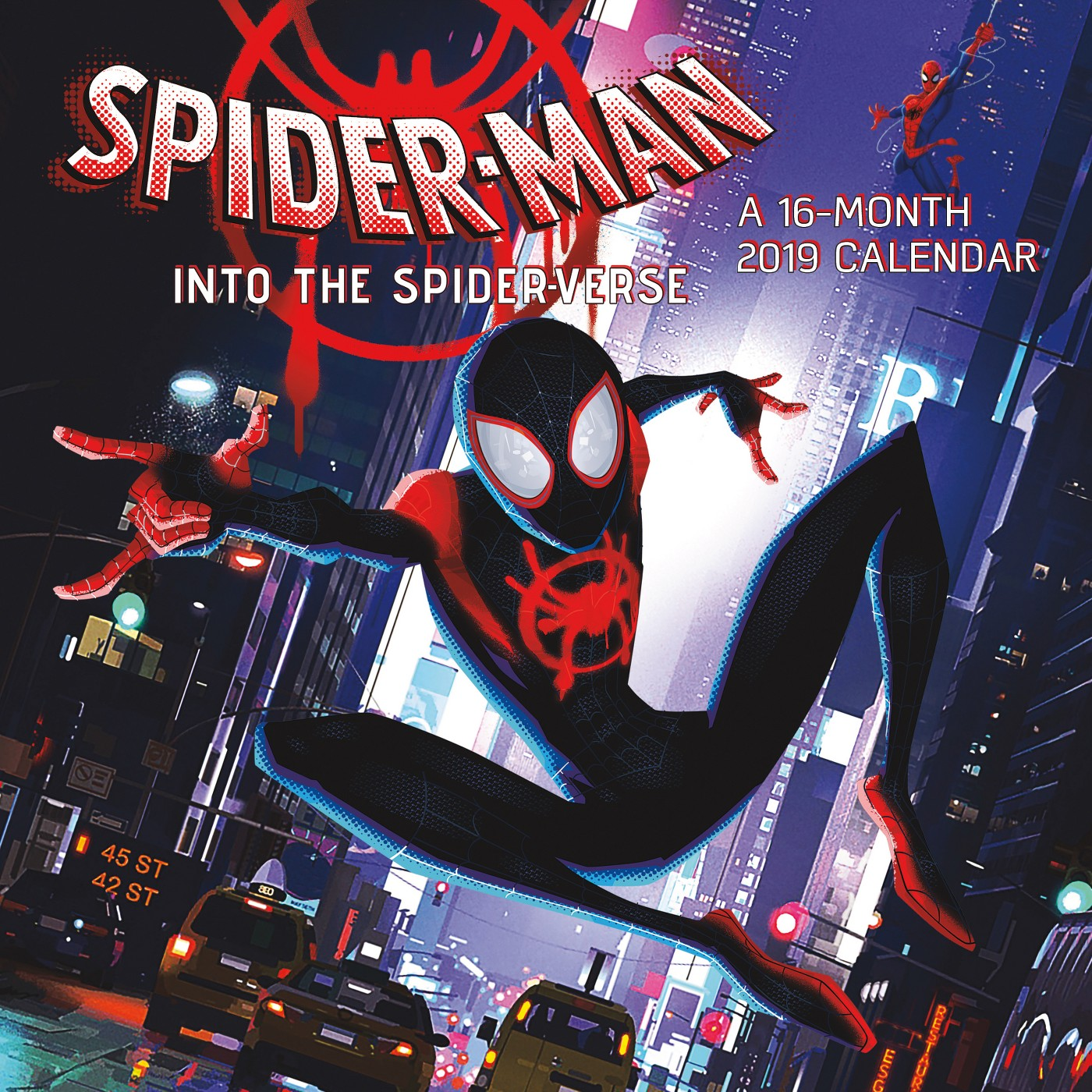 Spider-Man: Into the Spider-Verse 2019 Wall Calendar