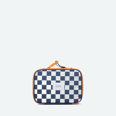 STATE Bags Kids' Metallic Rodgers Lunch Tote - Checkerboard