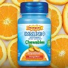 Emergen-C Immune+ Chewables Dietary Supplement Tablet, with 600 IU Vitamin D, 500mg Vitamin C - Orange Blast Flavor - 42ct - image 2 of 4