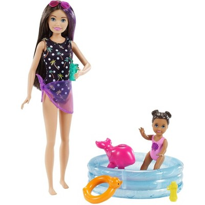 Barbie Skipper Babysitters Inc Dolls and Playset - Pool
