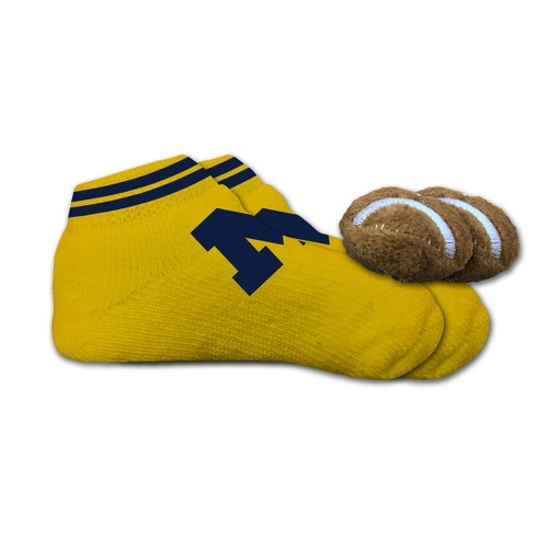 Gerber Baby Girl 6-Pk Coral//Blue Ankle Socks Size 0-6M