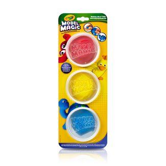 Crayola 3ct Model Magic, Modeling Clay Alternative, Primary Colors