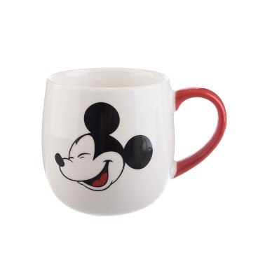 Mickey Mouse & Friends Mickey Mouse Porcelain Mug 16oz - White/Red