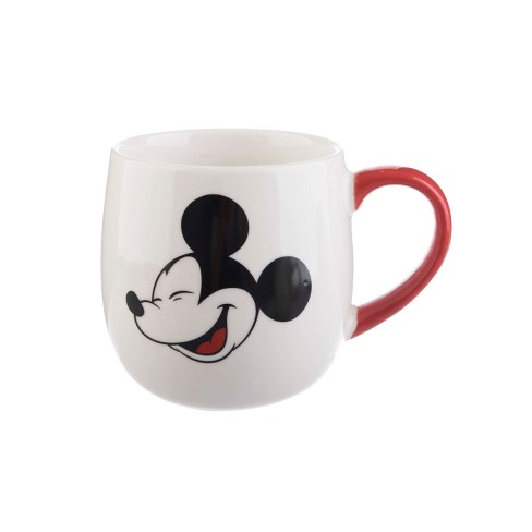 Mickey Mouse & Friends Mickey Mouse Porcelain Mug 16oz - White/Red - image 1 of 1